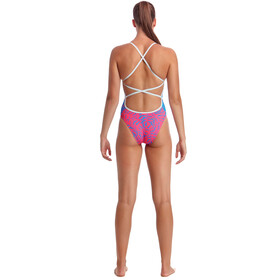 Funkita Colour Block One Piece Badpak Dames, in the cloud